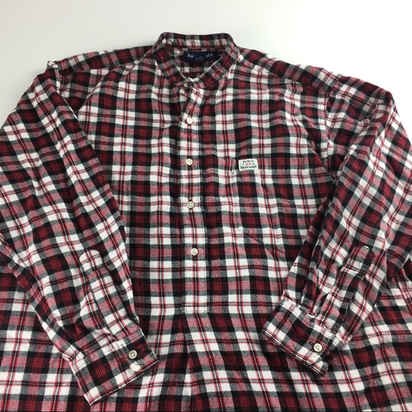 3ad6162d Polo Ralph Lauren Plaid Flannel 1/4 Button Down